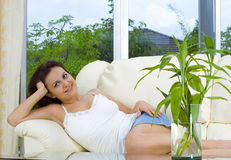 Lounging Royalty Free Stock Images