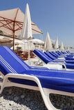 Lounging in the French Riviera Stock Image