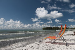 Lounging on Lake Ontario Royalty Free Stock Images