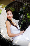 Lounging Outdoors Royalty Free Stock Images