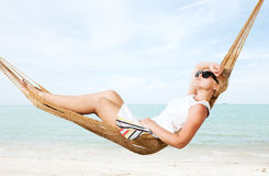 Lounging Royalty Free Stock Photo