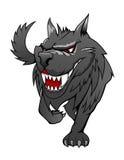 Loup de danger illustration stock
