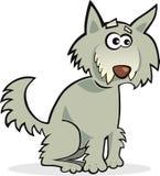Loup drôle illustration stock