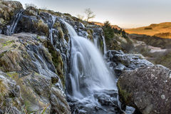 Loup of Fintry Waterfall Stock Image