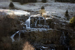 Loup of Fintry Waterfall Royalty Free Stock Photography