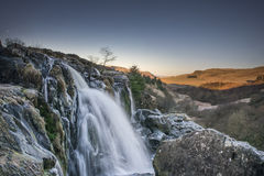 The Loup of Fintry waterfall Stock Image