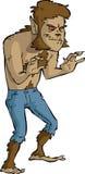 Loup-garou illustration de vecteur