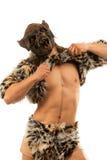 Loup-garou effrayant de grondement images libres de droits