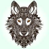 Loup graphique illustration libre de droits