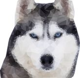Loup polygonal Loup polygonal d'illustration de style Illust de vecteur illustration de vecteur