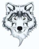 Loup tribal illustration stock