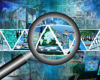 loupe Image libre de droits