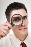 Loupe Stock Photo