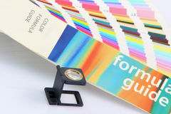 Loupe and formula guide Stock Image