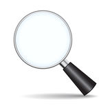Loupe icon Stock Images