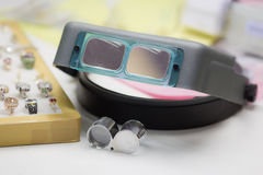 Loupe and Jewelers magnifying glass