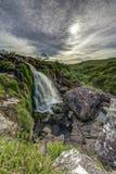 Loupen av den Fintry vattenfallnorden av Glasgow Scotland Fotografering för Bildbyråer