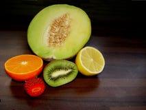Lourd avec la vitamine C Photos libres de droits
