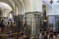 Lourdes, Γαλλία Στοκ φωτογραφία με δικαίωμα ελεύθερης χρήσης