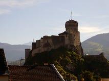 Lourdes Castle, Lourdes, Γαλλία Στοκ εικόνες με δικαίωμα ελεύθερης χρήσης