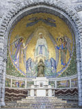 Lourdes, chapel external Royalty Free Stock Photography