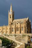Lourdes Church, Gozo, Malta Stock Images