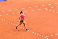 Lourdes Dominguez Lino en el WTA Mutua Madrid abierta Imágenes de archivo libres de regalías