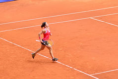 Lourdes Dominguez Lino at the WTA Mutua Open Madrid Royalty Free Stock Images