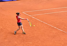Lourdes Dominguez Lino at the WTA Mutua Open Madrid Royalty Free Stock Photography