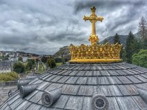 Lourdes, France Stock Images