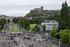 Lourdes, Francia Fotografia Stock Libera da Diritti