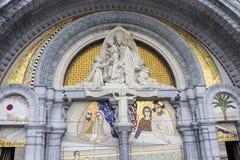 Lourdes, Frankrijk Royalty-vrije Stock Afbeeldingen