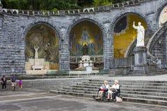 Lourdes Frankrike Arkivfoton