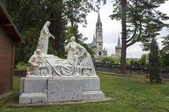 Lourdes Frankrike Arkivbilder