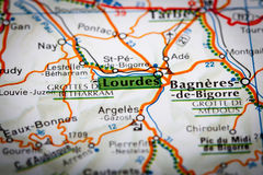 Lourdes Royalty Free Stock Photography