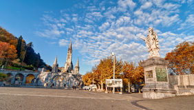 Lourdes Sanctuary France Royalty Free Stock Photography