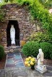 Lourdes Statue Στοκ Φωτογραφίες