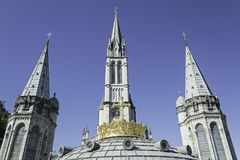 Lourdes Towers Royalty Free Stock Photo