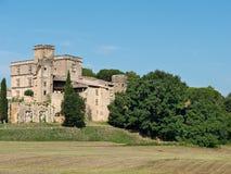 Lourmarin Chateau, Provence, France Royalty Free Stock Photo
