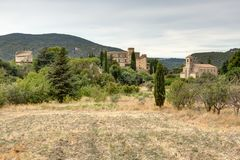 Lourmarin in Luberon - Provence - France. View of Lourmarin in Luberon - Provence - Vaucluse - France Stock Images