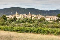 Lourmarin in Luberon - Provence - France. View of Lourmarin in Luberon - Provence - Vaucluse - France Stock Image