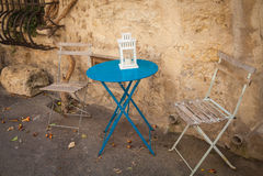 Lourmarin Provence France Stock Images