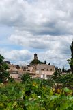 Lourmarin village Stock Photography