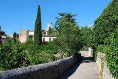 Lourmarin village Stock Photos