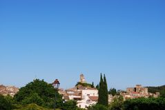 Lourmarin village Royalty Free Stock Photography