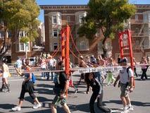 Louro aos disjuntores San Francisco 2012 imagens de stock