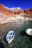Louro de Amoudi, oia, santorini Foto de Stock