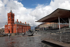 Louro de Cardiff Fotos de Stock