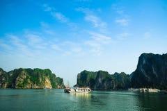 Louro de Halong em Vietnam Imagem de Stock