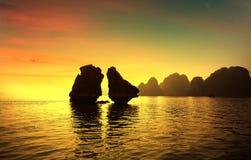 Louro de Halong em Vietnam Foto de Stock Royalty Free
